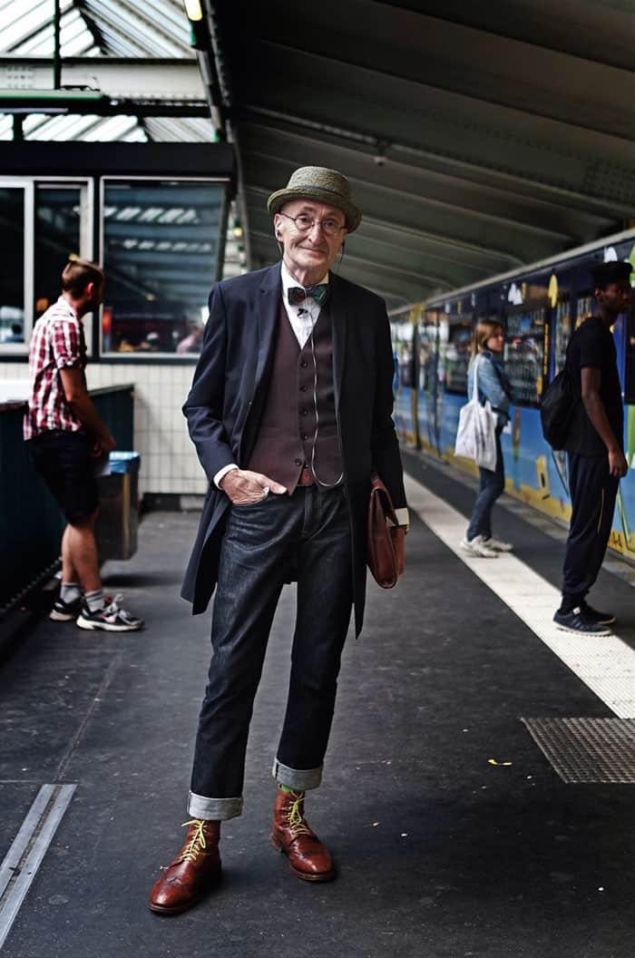 ה'בחור' הזה אולי בן 104, אבל יש לו הרבה יותר סטייל מלכל אחד מכם! תמונה מס' 8 פשוט וואו…