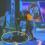 צפו: ארז טל מתרסק עם קורקינט באולפן ויוצא באמבולנס
