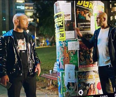 אייל גולן ועומר אדם בשיתוף פעולה ברחובות תל אביב!
