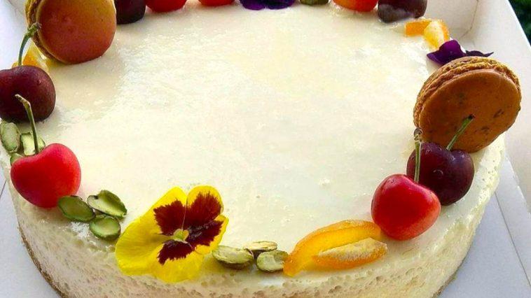 מתכון: עוגת גבינה ושוקולד לבן לכבוד חג השבועות