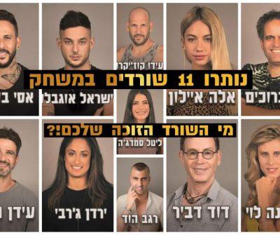 סקר: מי השורד הזוכה שלכם בהישרדות VIP 2020?
