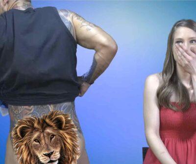לא נגענו: ג'וזי זירה חושף את הישבן שלו באמצע ראיון לתוכנית!