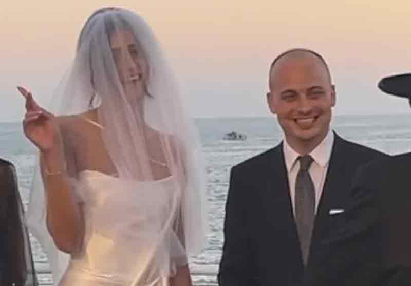 שם עליה טבעת: כוכבת האח הגדול נישאה לבחיר ליבה