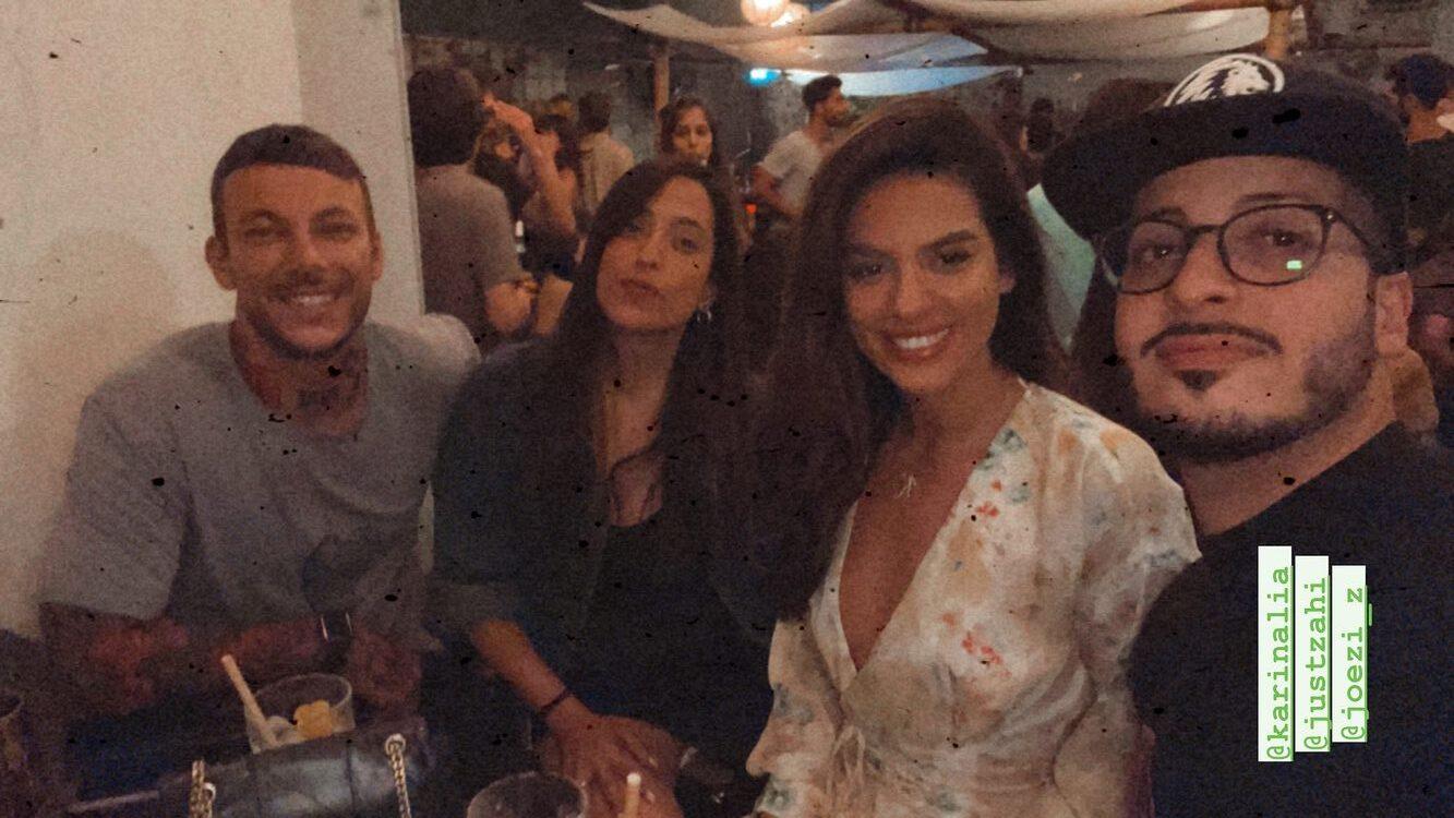 זוג חדש בביצה? ג'וזי זירה וקארין עליה נתפסו על חם בדייט בתל אביב
