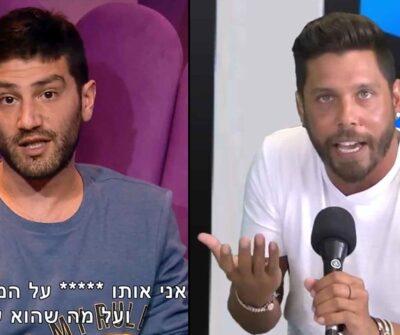 """דיוויד דימוס פותח בשידור חי: """"אני מקנא ביהודה יצחקוב ושם עליכם ***"""""""