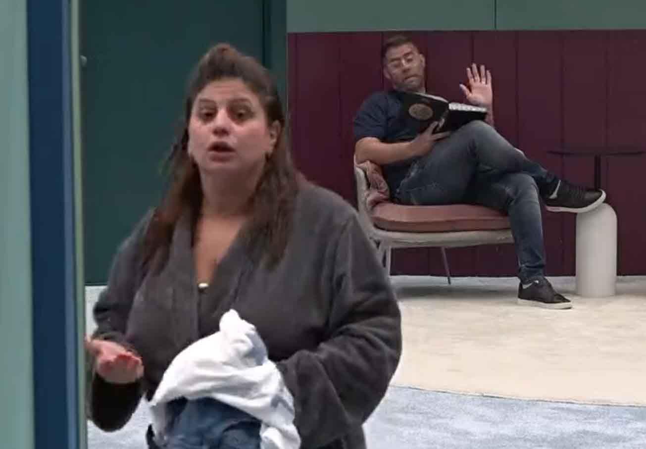"""הפיצוץ האדיר בין מאיה לאורן חזן:""""מסכנה רינת שיש לה גבר שמדבר ככה לנשים!"""""""