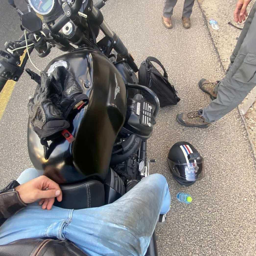 """אוי לא: כוכב """"האח הגדול"""" עשה תאונת אופנוע ופונה לבית החולים!"""