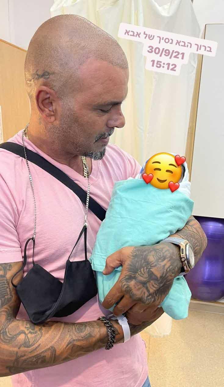 מזל טוב: דניאל גרינברג ילדה בן ואייל גולן הפך לאבא פעם נוספת!